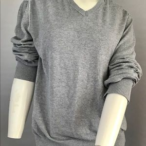 Banana republic size large gray sweater